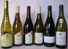 Unsere Weine aus dem Loiretal, 6 Tropfen als Weinprobierpaket
