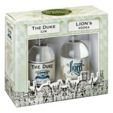 THE DUKE MUNICH DRY GIN / LION´s Vodka Miniatur-Set 2 x 0,10 Ltr. Flaschen