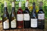 6 Weinflaschen aus Frankreich