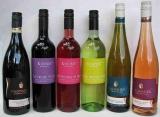 6 tolle Weinflaschen vom Bodensee und Kaiserstuhl