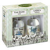 THE DUKE MUNICH DRY GIN / LION´s Vodka Miniatur-Set 2 x 0,10 Ltr. Flaschen